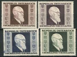 Oostenrijk, michel 772/75A , xx