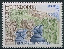 Andorra Fr, michel 293, xx