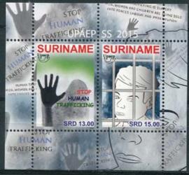 Suriname Rep.,mensenhandel 2015, xx