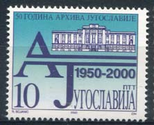 Joegoslavie, michel 2961, xx