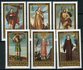 Liechtenstein, michel 1341/46, xx