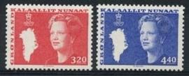 Groenland , michel 189/90 , xx