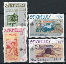 Seychelles, michel 457/60, xx