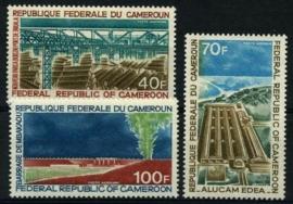 Cameroun, michel 642/44, xx