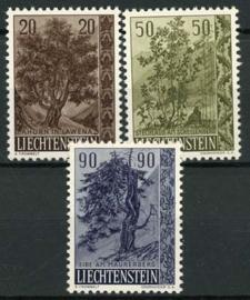 Liechtenstein, michel 371/73, xx