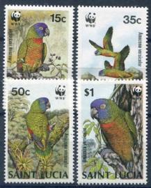 St.Lucia, michel 909/12, xx