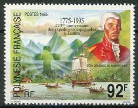 Polynesie, michel 672, xx
