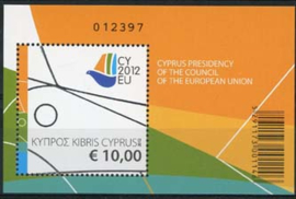 Cyprus, michel blok 38, xx