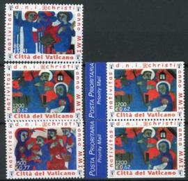 Vatikaan, michel 1390/92+ do/du, xx