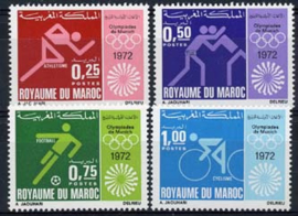 Marokko, michel 708/11, xx