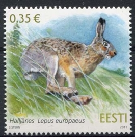 Estland, michel 698, xx