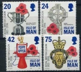 Isle of Man, michel 684/87, xx