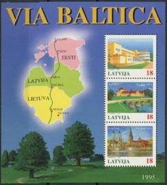Letland, michel blok 5, xx