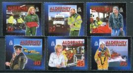 Alderney, michel 199/204 C, xx