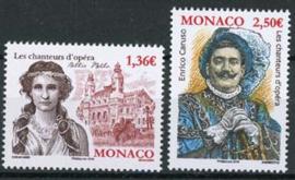 Monaco, michel 3296/97, xx