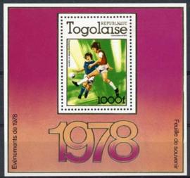 Togo, michel blok 128A, xx
