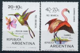 Argentinie, michel 1055/56, xx