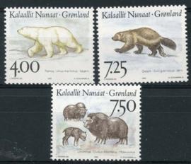 Groenland , michel 274/76 , xx