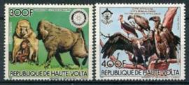 Haute Volta, michel 961/62, xx