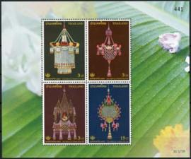 Thailand, michel blok 186, xx