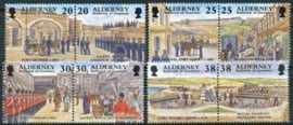 Alderney, michel 137/44, xx
