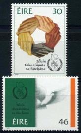 Ierland, michel 603/04, xx