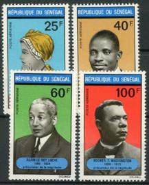 Senegal, michel 452/55, xx