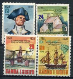 Samoa, michel 376/79, xx