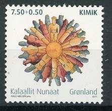 Groenland, michel 582, xx