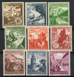 Duitse Rijk, michel 675/83, xx