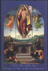 Vaticaan, michel blok 25, xx