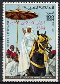 Marokko, michel 762, xx