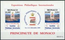 Monaco, michel blok 81, xx