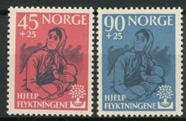 Noorwegen, michel 442/43, xx