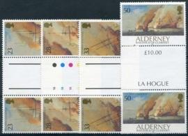 Alderney, michel BP 55/58, xx