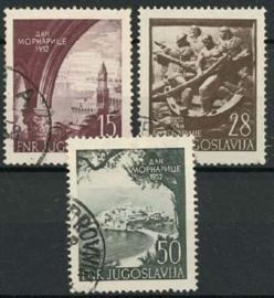 Joegoslavie, michel 704/06, o
