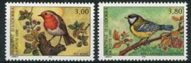 Andorra Fr., michel 491/92, xx