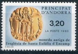 Andorra Fr., michel 420, xx