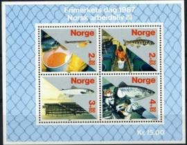 Noorwegen, michel blok 8, xx