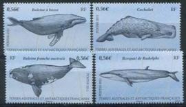 Antarctica Fr., michel 739/42, xx