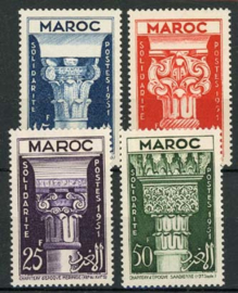 Marokko, michel 344/47, xx