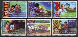 Papua N. Guinea, michel 1166/71, xx