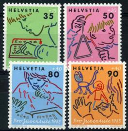 Zwitserland, michel 1381/84,xx