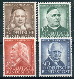 Bundespost, michel 173/76, xx