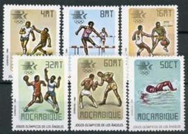 Mozambique, michel 967/72, xx