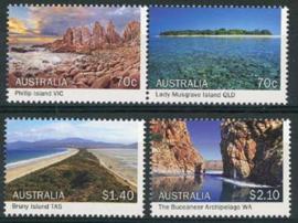 Australie, michel 4316/19, xx