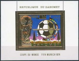 Dahomey, michel blok 37A, xx