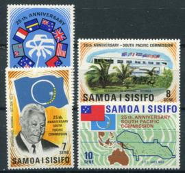 Samoa, michel 254/57, xx