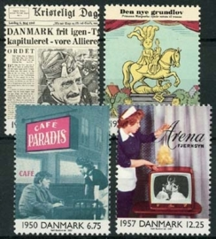 Denemarken, michel 1255/58, xx