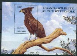 Uganda, michel blok 98, xx